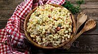 Salata de paste cu legume si sos de iaurt - Reteta VIDEO - Pas 12