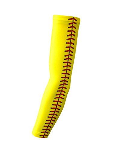 Softball Compression arm Sleeves by Bucwild Sports