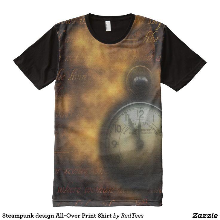 Steampunk design All-Over Print Shirt