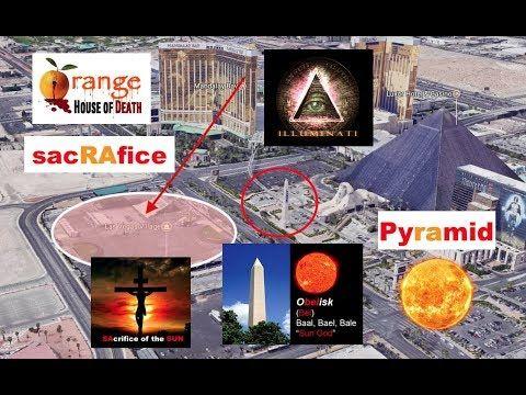 2017 Las Vegas Strip Shooting Conspiracy SUNday Truncated PyRAmid Sun Sa...