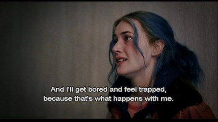 cinematheia   Eternal Sunshine of the Spotless Mind (2004) – Quotes