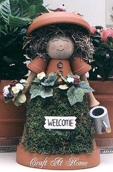 Mrs. Clay Pot Gardener