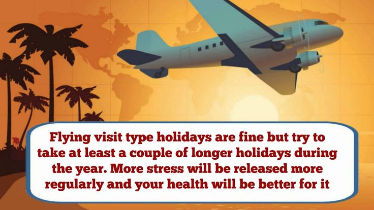 How To Avoid Getting Tired On Your Holiday See at https://www.youtube.com/watch?v=731ldJthPFE