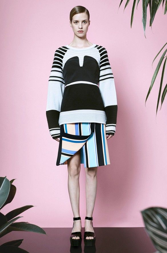 This look is one of many that we're loving from the Opening Ceremony Resort 2015 look-book