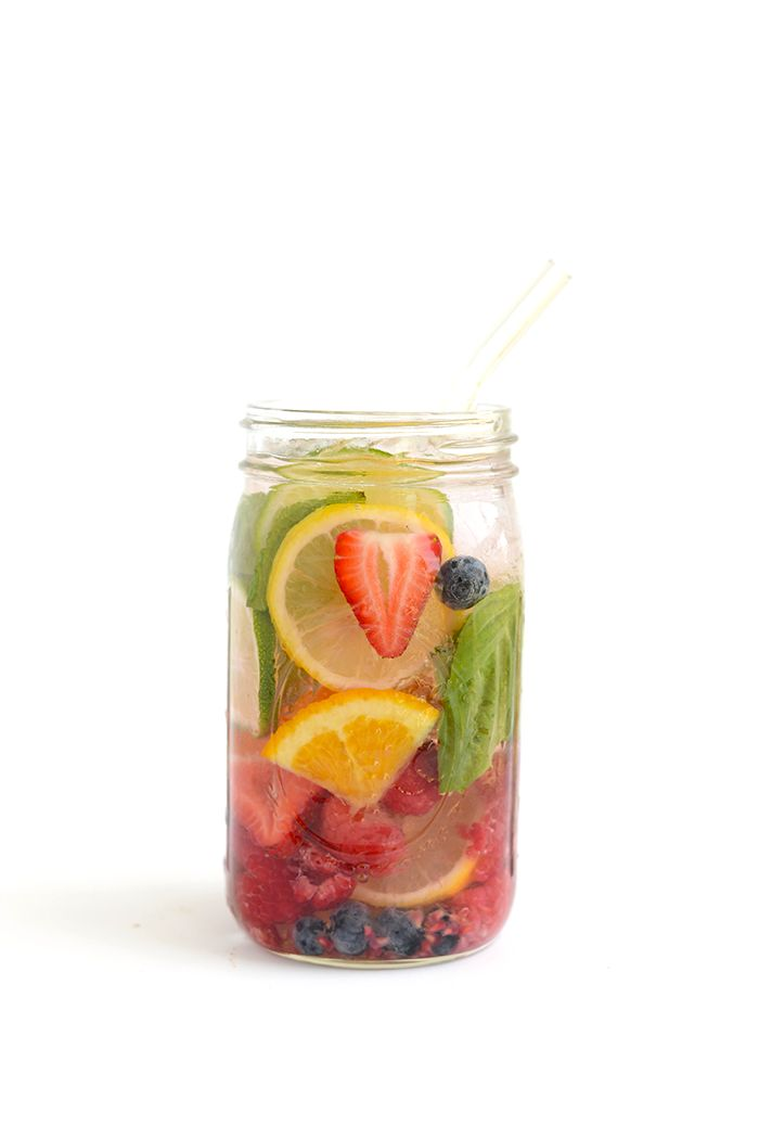 """The """"Everything"""" Infused Water -Get in your daily water quota with this Fruit-Infused Water - 6 ways! From berries, to citrus, to cucumber and herbs, we've got you covered for refreshing drink recipes all summer long!"""