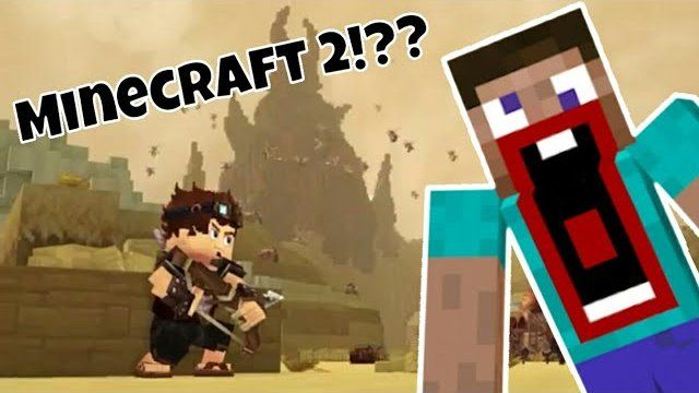 Did Notch Just Made A New Minecraft Game!?? (Hytale Trailer
