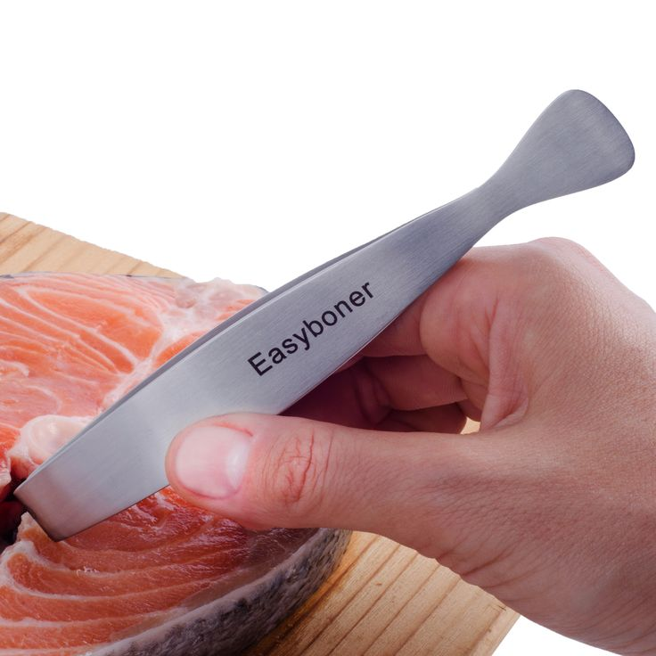 Easyboner Fish Bone Tweezer tool - the MUST-HAVE kitchen gadget guaranteed for life. The ideal gift for that special cook, fisherman or outdoors minded person in your life. http://www.amazon.com/dp/B00JTP32Y8