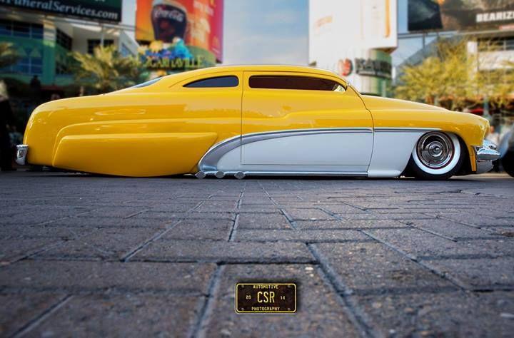 49' Merc 53' Buick side trimBubble Skirts, Chopped & Very Cool! :)