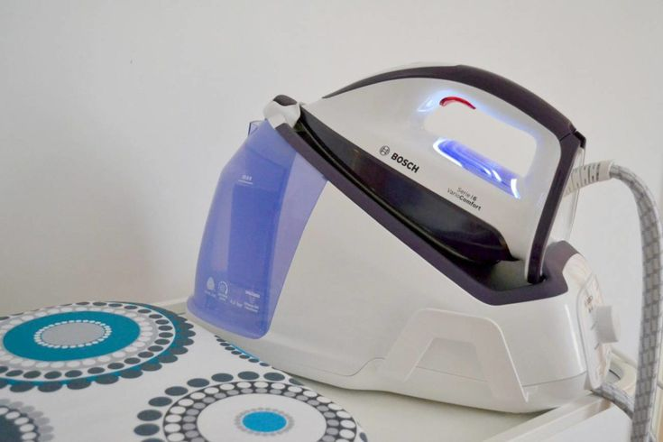 The Bosch VarioComfort Steam Generator Iron Review and Giveaway