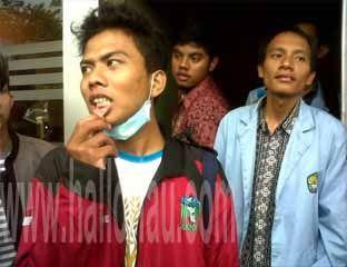 Mahasiswa Korban Penganiayaan Lapor ke Polda Riau