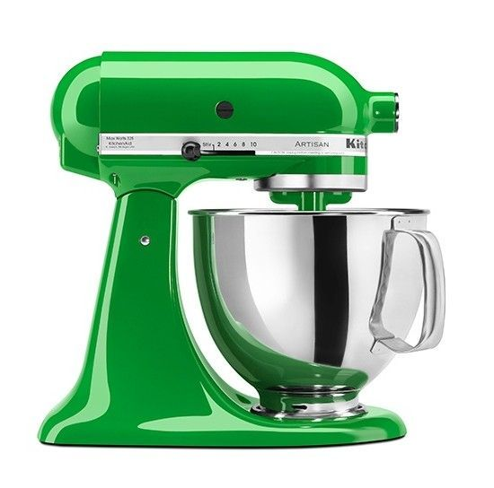 Kitchen Aid - Kelly Green mixer would look good in any kitchen and make a gift that would make anyone green with envy!