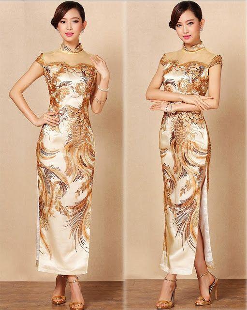 Apparels Lifestyle: Fashion Dress - Cheong Sam, Qi Pao