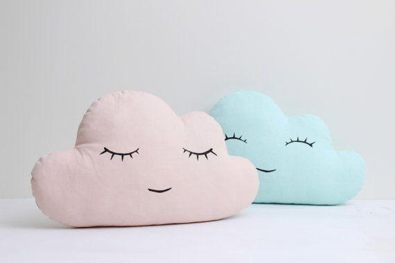 Wolke-Kissen  Pink weiß Mint oder Gray Cloud von ProstoConcept