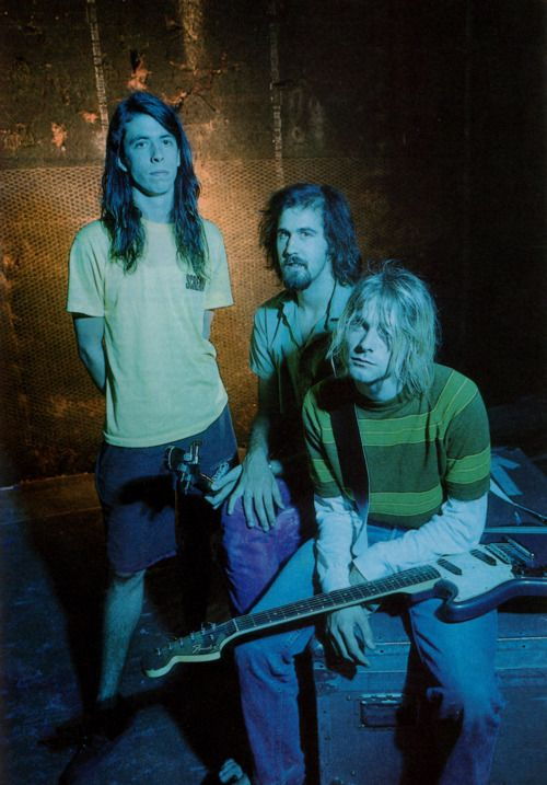 Dave, Krist, Kurt - Nirvana, SMELLS LIKE TEEN SPIRIT music video