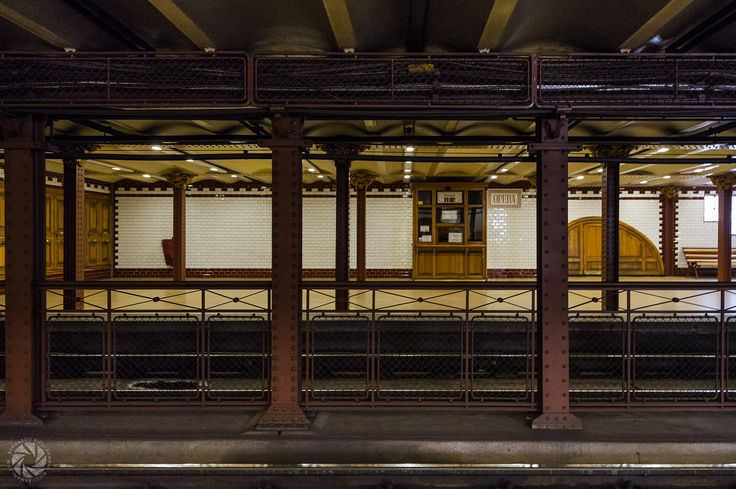 Opera Station along the Budapest Metro 1 Line
