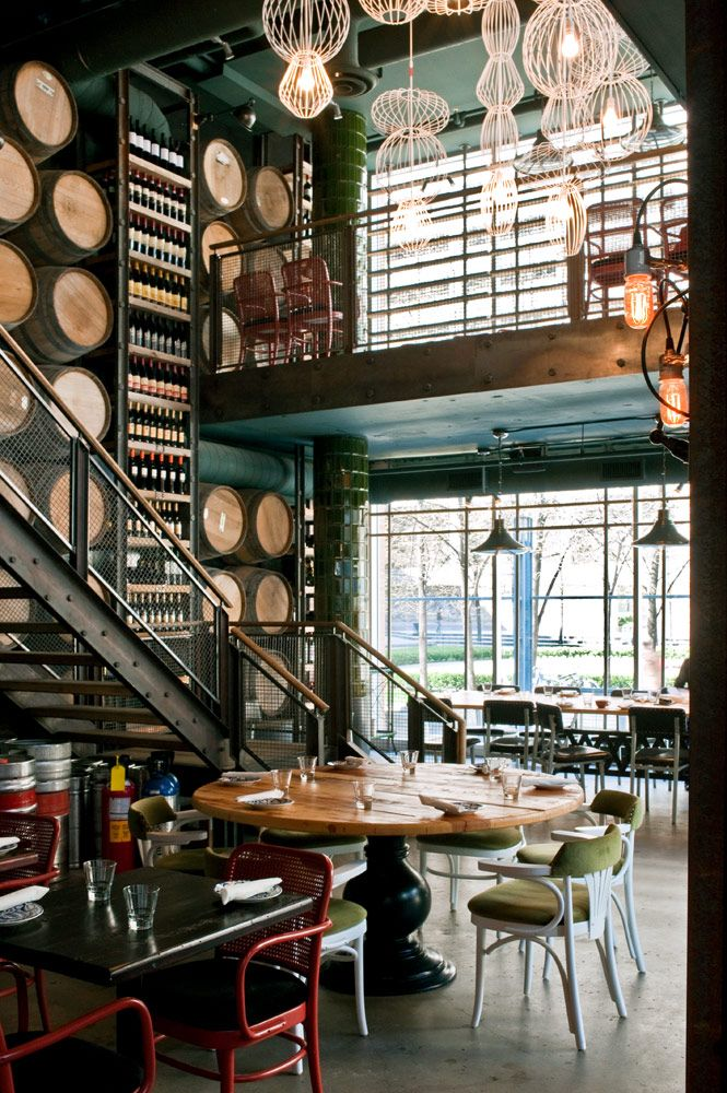 Trattoria Mercatto, Toronto. Interior Design By Munge Leung.