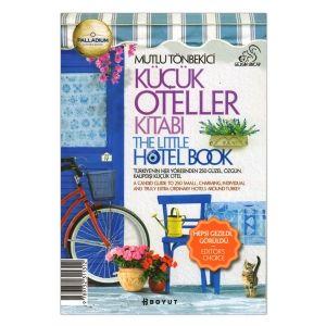 Küçük Oteller / The Little Hotel Book 2014 Türkiye'nin görmeye değer tüm destinasyonlarında, yazarın bizzat deneyimleyip beğendiği küçük oteller 17 yıldır bu kitapta özenle toplanıyor. Türkçe ve İngilizce çift dilli yapısı, kolay taşınır boyutu, haritaları, fotoğrafları ve otellerle ilgili verdiği bilgilerle gezmeyi sevenlerin elinden düşürmeyeceği bir eser. 2014 baskısında 30'dan fazla yeni otelle birlikte...