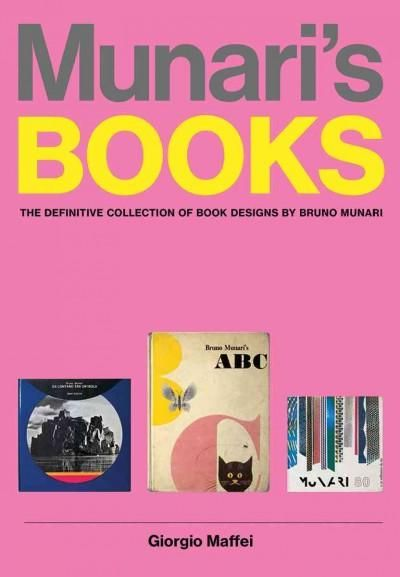 One of the greatest graphic designers of the twentieth centurycalled by Picasso the Leonardo of our time Italian artist and designer Bruno Munari (19071998) considered the book the best medium to comm