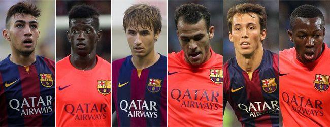 Sokan aggódva vették tudomásul, hogy a Barcelona 2016-ig nem igazolhat, mondván, mi lesz így a csapattal jövőre? Nyugtalanságra semmi ok, mondták a klubnál, van honnan építkezni. Erről ír a sport.es.  ...