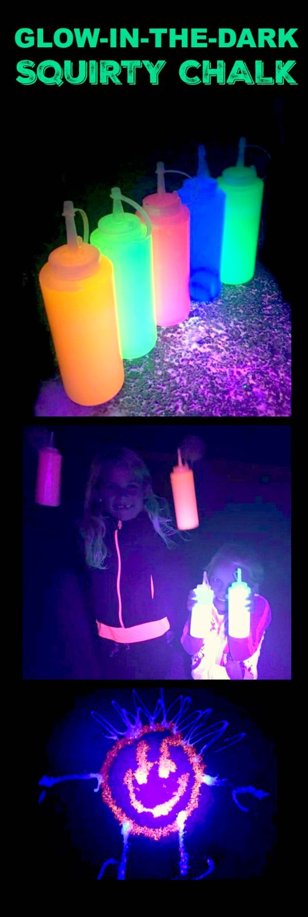 AMAZING KID ACTIVITY- DIY GLOW IN THE DARK CHALK PAINT