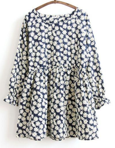 Long Sleeve Daisy Dress