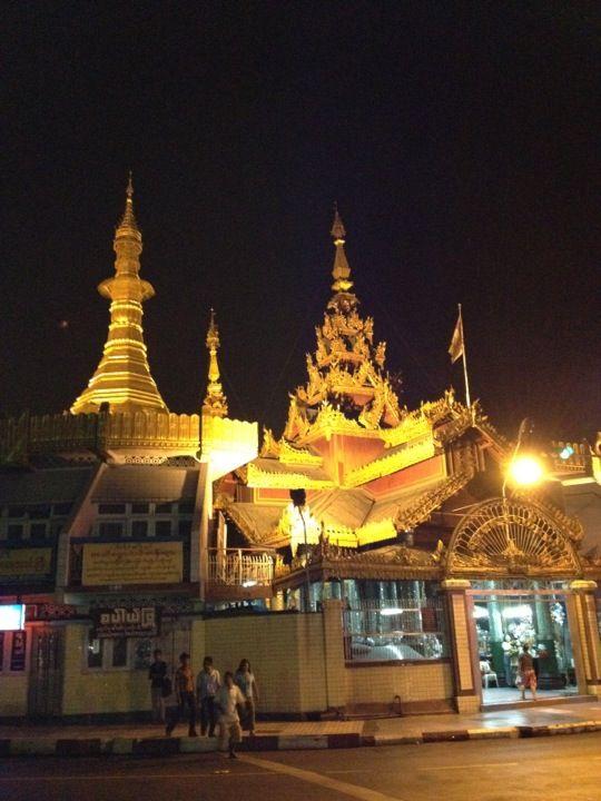 Sule Pagoda in Yangon, Yangon Region