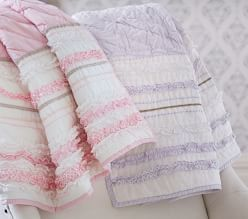 Girl Quilts & Comforters | Pottery Barn Kids