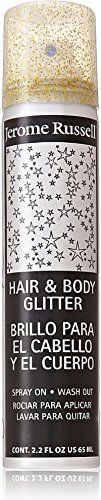 Jerome Russell Hair and Body Glitter Spray, Gold 2.2 oz (Pack of 6) ** You can find more details by visiting the image link. http://www.amazon.com/gp/product/B01IAFJQX8/?tag=beautycare888-20&pza=031016115554