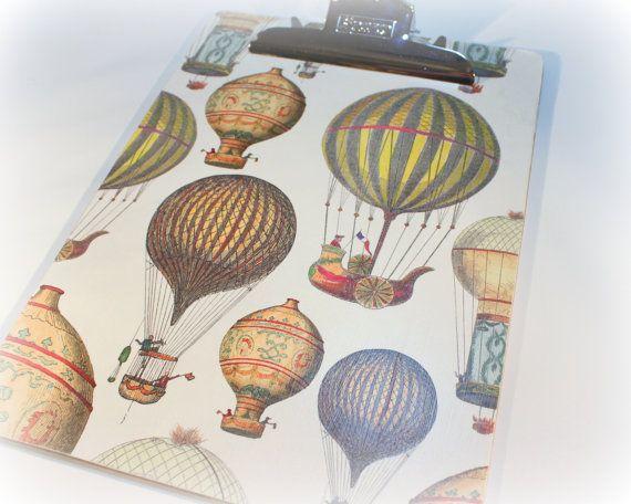 Presse-papiers ballon Air chaud presse par SouthernRosePaperie