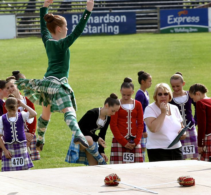 Sword - Bute Highland Games and Dancing Championship in Scotland