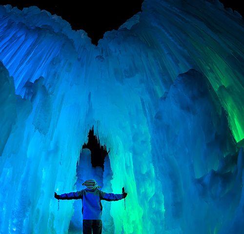 Esse cara criou uma empresa que constrói imensos 'castelos de gelo' de forma orgânica