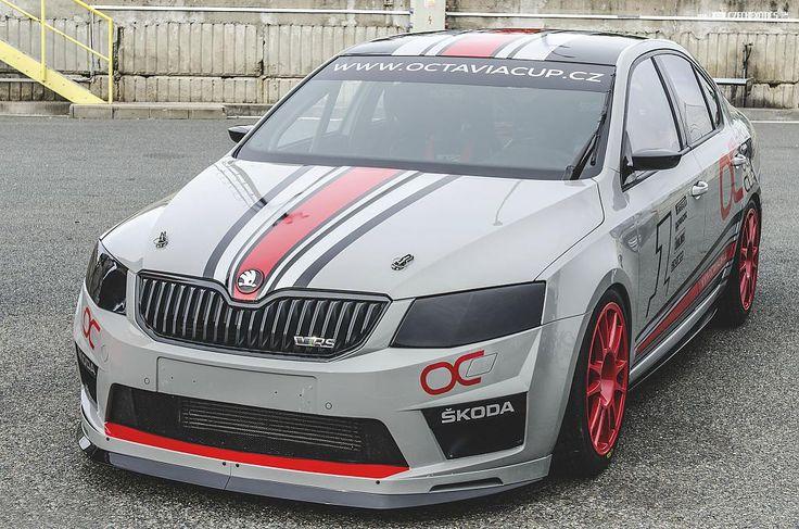 Spoiler předního nárazníku CUP pro Škoda Octavia III RS