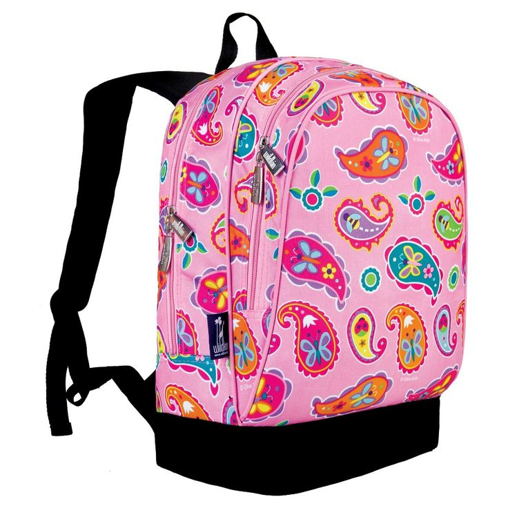 Wildkin Olive Kids Paisley Sidekick Kids Backpack