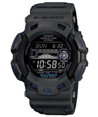 Casio G-Shock Gulfman Tide/Moon Black Dial Mens watch #GR9110GY-1