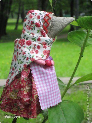 Куклы День защиты детей День рождения Шитьё Кукла Сороки-вороны Ткань фото 2