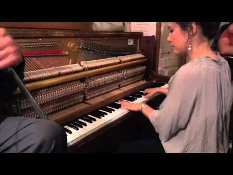 Live Music : Boogie Woogie : 2012 La Roquebrou Festival : Stephanie Trick, Solo Stride Piano - YouTube