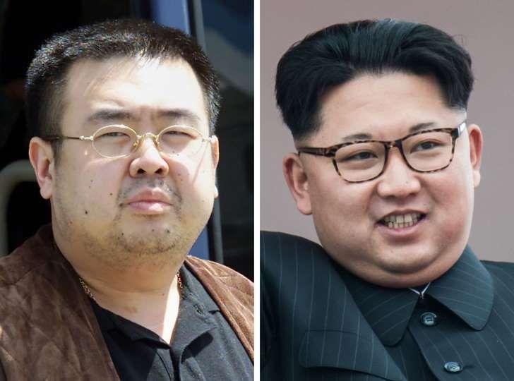Le Parisien: Kim Jong-Nam (à gauche) aurait été assassiné par les services secrets de Corée du Nord, une dictature dirigée par son demi-frère Kim Jong-Un.