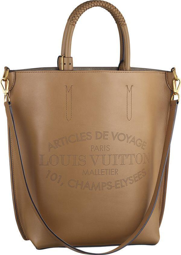 Louis Vuitton ~ Parnassea Collection Flore Bag, Noisette
