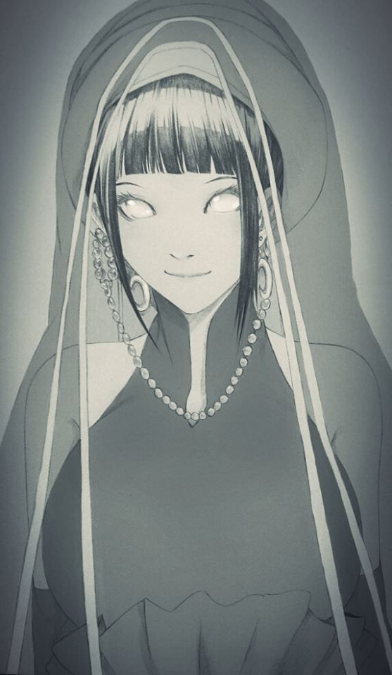 Hinata and her wedding outfit 無題