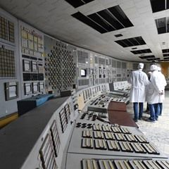 Inside the Chernobyl Nuclear Power Plant and the abandoned town of Pripyat