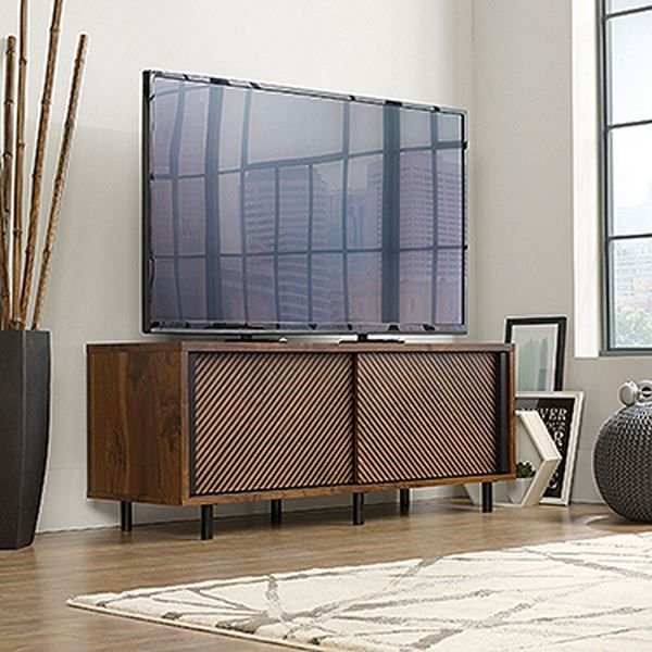 Harvey Park Entertainment Credenza Grand Walnut * by Sauder Woodworking is now available at American Furniture Warehouse. Shop our great selection and save!
