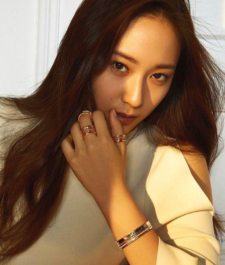 Krystal Jung #krystal #jung #fx #kpop #sm #smentertainment #brownhair #chic