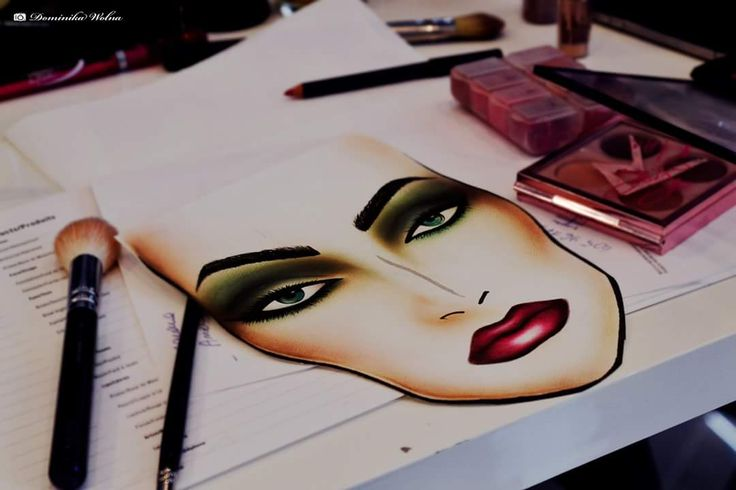 #makeup #facechart