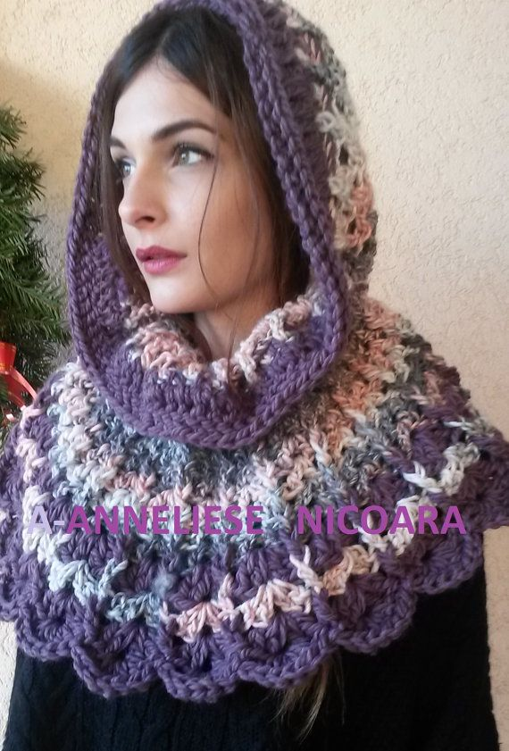 Crochet Capelet Poncho and Skirt 3 in 1 by AnnesMagicCrochet