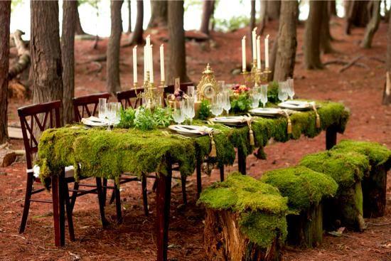A Glamorous Woodland Wedding - New Hampshire Magazine Bride - Fall-Winter 2012