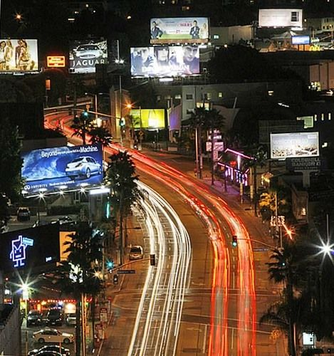 Sunset Strip in Los Angeles, CA #musiclandmarks #music