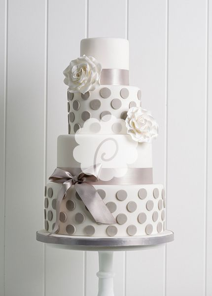 Love this cake but would want the polka dots to be purple