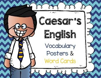 This packet includes:    Unit Vocabulary posters in color and black and white    Weekly Assignments    Vocabulary Memory cards for each lesson    Jeopardy Review Game    I Have... Who Has... review game    Student take home lists    Colorful Word & Discussion PostersThis packet is meant to be used to fully implement Michael Clay Thompson's Caesar's English Vocabulary lessons.