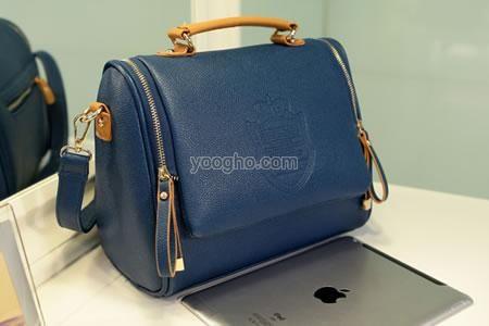 Tas Wanita Selempang Zipper (Kode VSTZ blue) Import