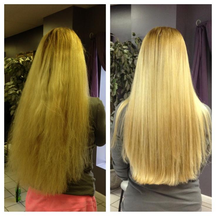 Before & After. Brazilian blowout;) | Hair ️ | Pinterest ...